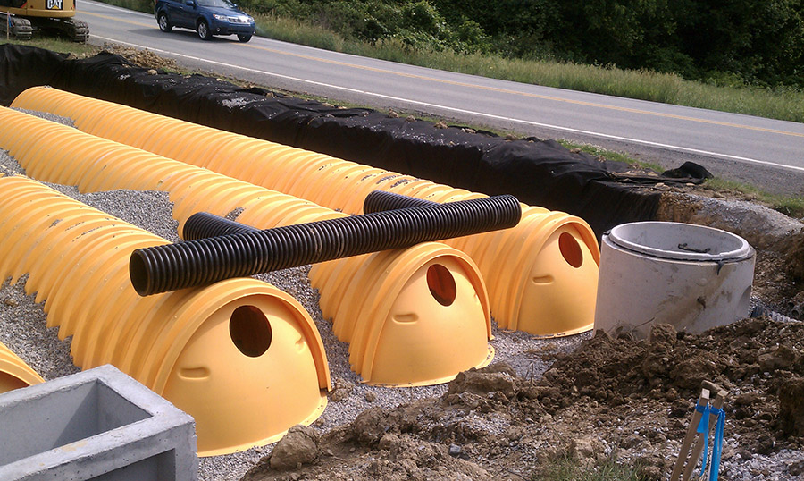 Corrugated Plastic Storm Sewer Pipe